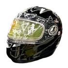 Шлем снегоходный F-349 Nitro, M, черный