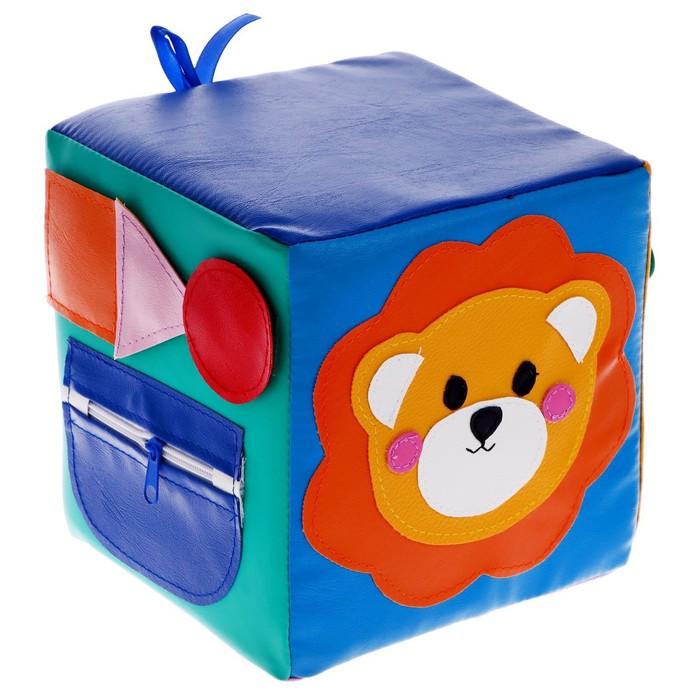 Кубик дидактический «Львёнок», 20 × 20 см