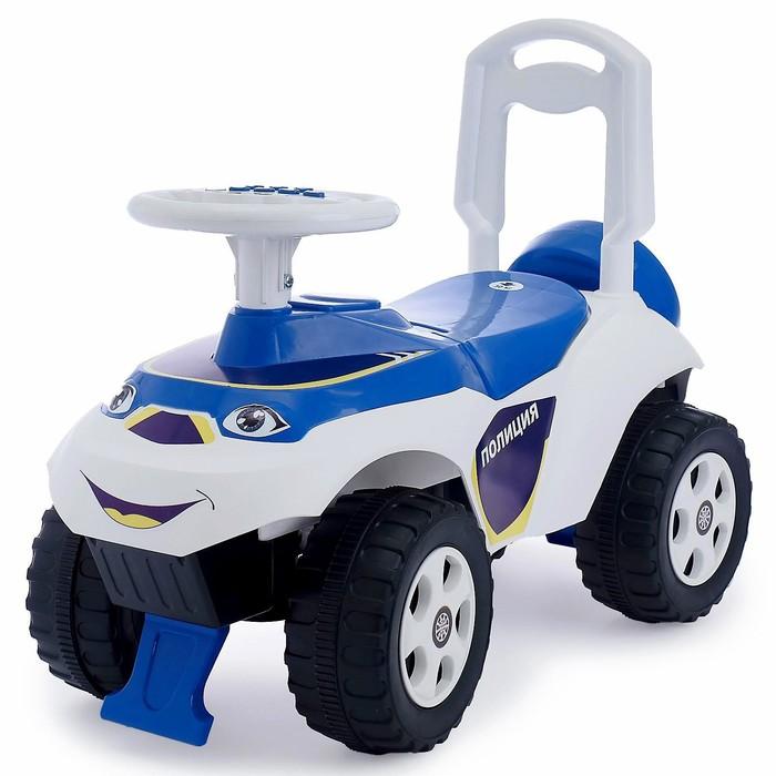 Машинка для катания «Машинка», с музыкальным рулём
