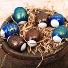 """Easter shrink film """"happy Easter!"""", on 7 eggs"""