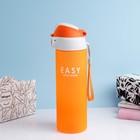 "Бутылка для воды ""Easy"" 600 мл, микс, 6.5х24 см - фото 691599"
