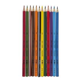 """Карандаши акварельные 12 цветов 3.0 мм, Koh-I-Noor """"Рыбки"""" 3716, картонная коробка, L=175 мм - фото 7243104"""
