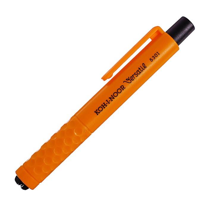 Держатель для карандашей Koh-I-Noor 5301, пластиковый, L=120 мм, d=4,5-5,6 мм, оранжевый