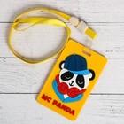 Чехол резиновый для бейджа MC Panda 6,5 х 11 см