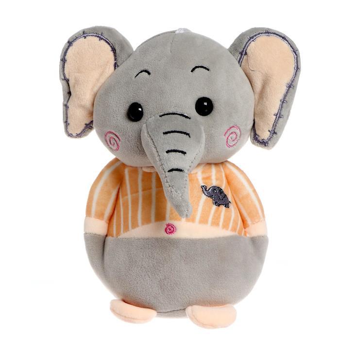 Мягкая игрушка «Слон в штанишках», цвета МИКС - фото 105610055