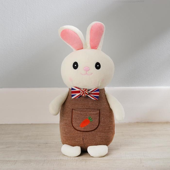 Мягкая игрушка «Зайка в костюмчике», цвета МИКС - фото 105610061