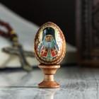 """Egg gift """"St. Luke"""" on the stand"""