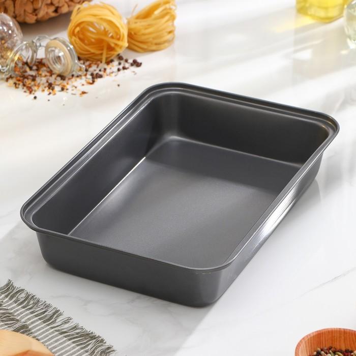 """Baking tray with a/C coating """"Rectangle. Jacqueline"""" 31х21х6,5 cm"""