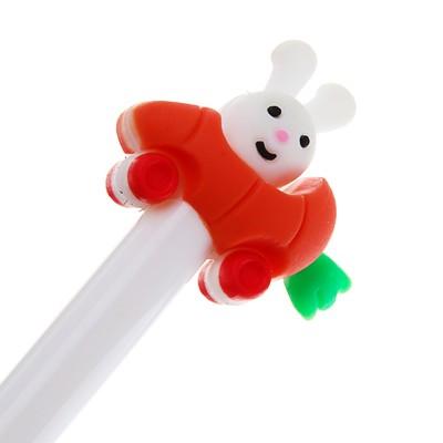Ручка шариковая-прикол, «Зайка», МИКС