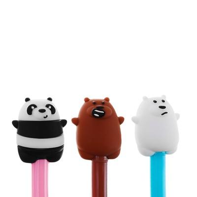 Ручка шариковая-прикол, «Мишка», МИКС