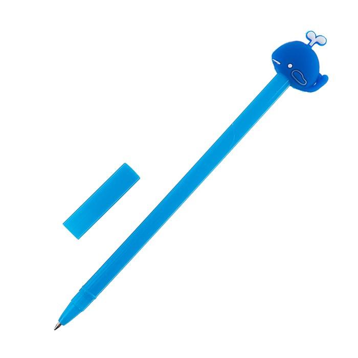Ручка шариковая-прикол, «Кит», МИКС