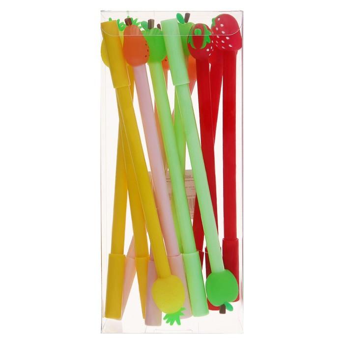 Ручка шариковая-прикол, «Фрукты-Ягоды», МИКС