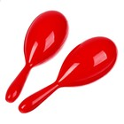 Маракас, набор 2 шт., цвет красный