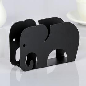 {{photo.Alt || photo.Description || 'Салфетница «Слон», 14,5×4×9,5 см, цвет чёрный'}}