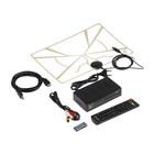 Приставка для цифрового ТВ Selenga + Антенна, комплект, FullHD,DVB-T2/C,дисплей,HDMI,RCA,USB