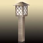 Уличный светильник на столбе 80 см ANGER, 1x60Вт, E27, IP44, цвет коричневый