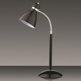 Настольная лампа MANSY 60Вт E27 черный