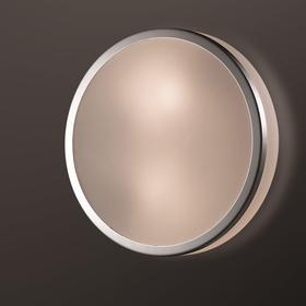 Светильник YUN, 1x60Вт, E27, IP44, цвет хром