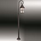 Уличный светильник 150 см LUMI, 1x60Вт, E27, IP44, цвет коричневый