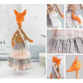 Мягкая игрушка «Лисичка Дженифер» 18 × 22.5 × 2.5 см