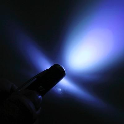 Ручка-фонарик «Нет ничего невозможного», цвет серебрянный