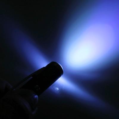 Ручка-фонарик «Для ценных мыслей», цвет белый