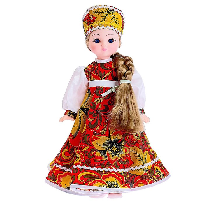 Кукла «Василина Хохлома», 45 см, МИКС