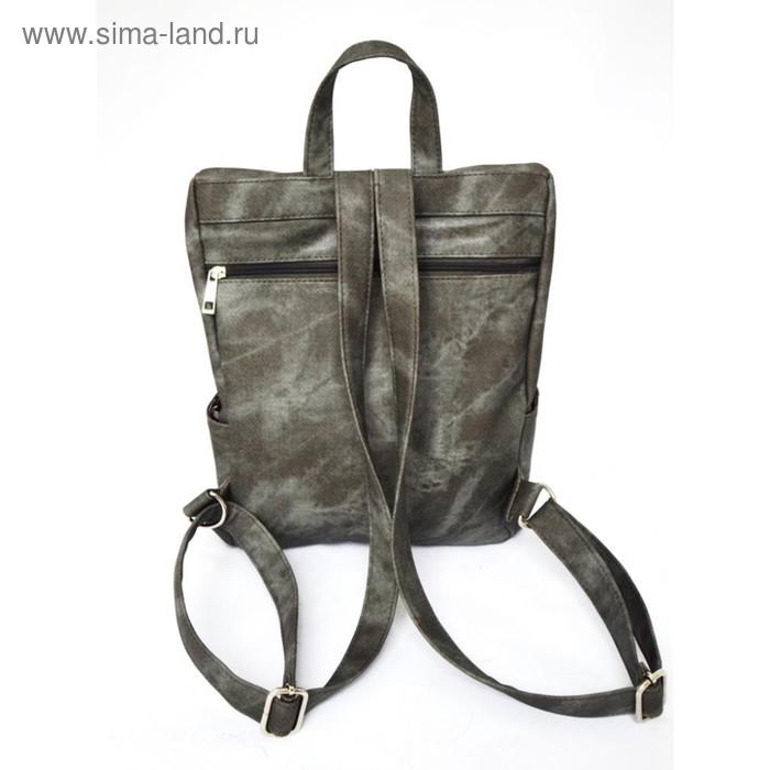 3c905906aec4 Рюкзак женский Serena, 1 отдел, цвет тёмно-серый (4143102) - Купить ...
