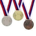 Медаль под нанесение 064 диам 5 см. Цвет сер