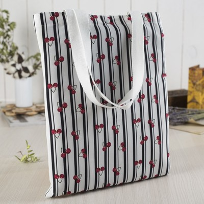 Bag, Department button, without padding, color white/black