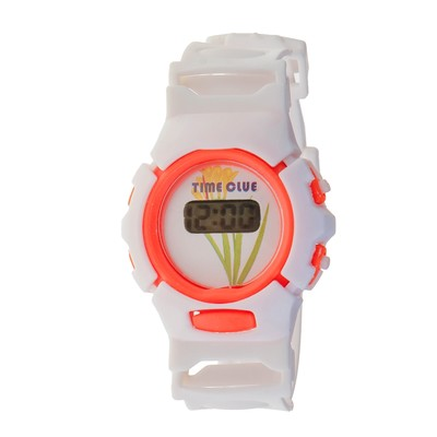 """Watches, clocks """"Tenderness"""", electronic, silicone band mix"""