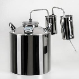 Дистиллятор «Разборный», 16 л, горло 10 см, термометр, клапан