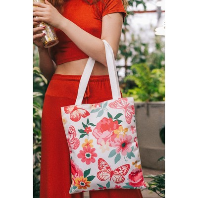 Bag, Department button, without padding, color pink/yellow