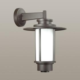 Уличный настенный светильник MITO, 1x18Вт, E27, IP54, цвет коричневый