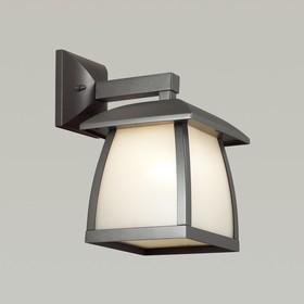 Уличный настенный светильник TAKO, 1x100Вт, E27, IP44, цвет серый