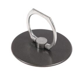 Держатель-подставка с кольцом для телефона LuazON, в форме круга, черный Ош