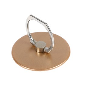 Holder-stand-ring phone LuazON, in the form of a circle, the color of gold