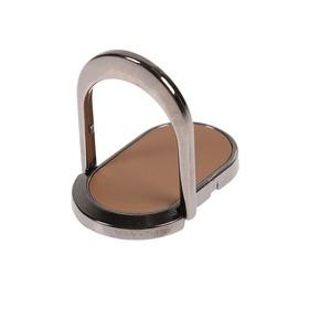 Держатель-подставка с кольцом для телефона LuazON, металлическая основа, цвет золото Ош