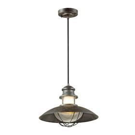 Уличный светильник IP23 DANTE, 1x60Вт, E27, IP23, цвет коричневый