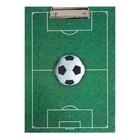 Планшет с зажимом А4 ламинированный картон «Футбол»