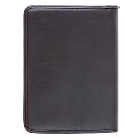 Dad business, faux leather, 360x260x30 mm, Luxury, brown