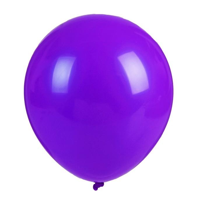 """Шар латексный 36"""" «Гигант», 1 шт., цвет фиолетовый - фото 308469730"""