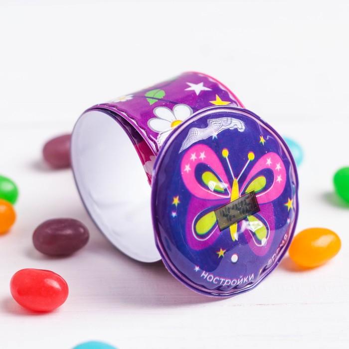 Набор «Самой чудесной»: часы, наклейки, конфеты 20 г - фото 536994011