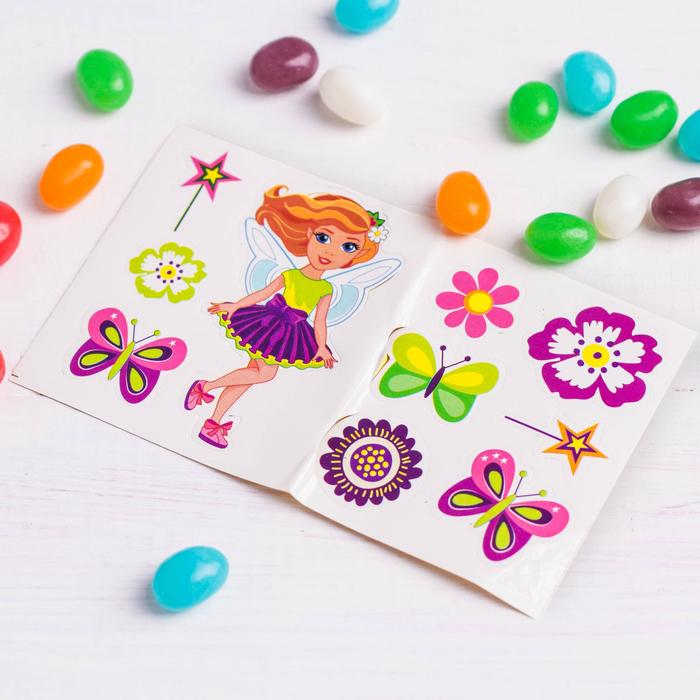 Набор «Самой чудесной»: часы, наклейки, конфеты 20 г - фото 536994010