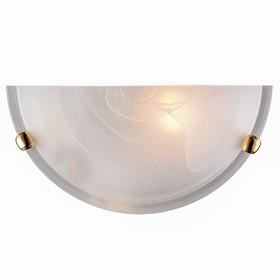 Светильник DUNA 1x100Вт E27 золото, белый