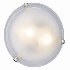 Светильник DUNA 2x60Вт E27 хром, белый