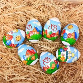 Пасхальная термоусадочная плёнка «Ангелочки», на 7 яиц