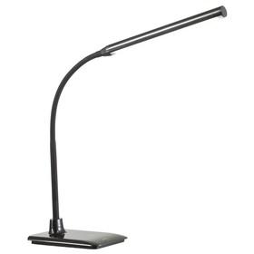 Настольная лампа HARUKO 1x6Вт 5000К LED черный