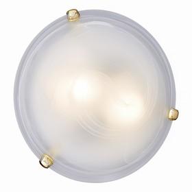 Светильник DUNA 2x60Вт E27 золото, белый