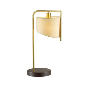 Настольная лампа KAREN 1x40Вт E14 коричневый